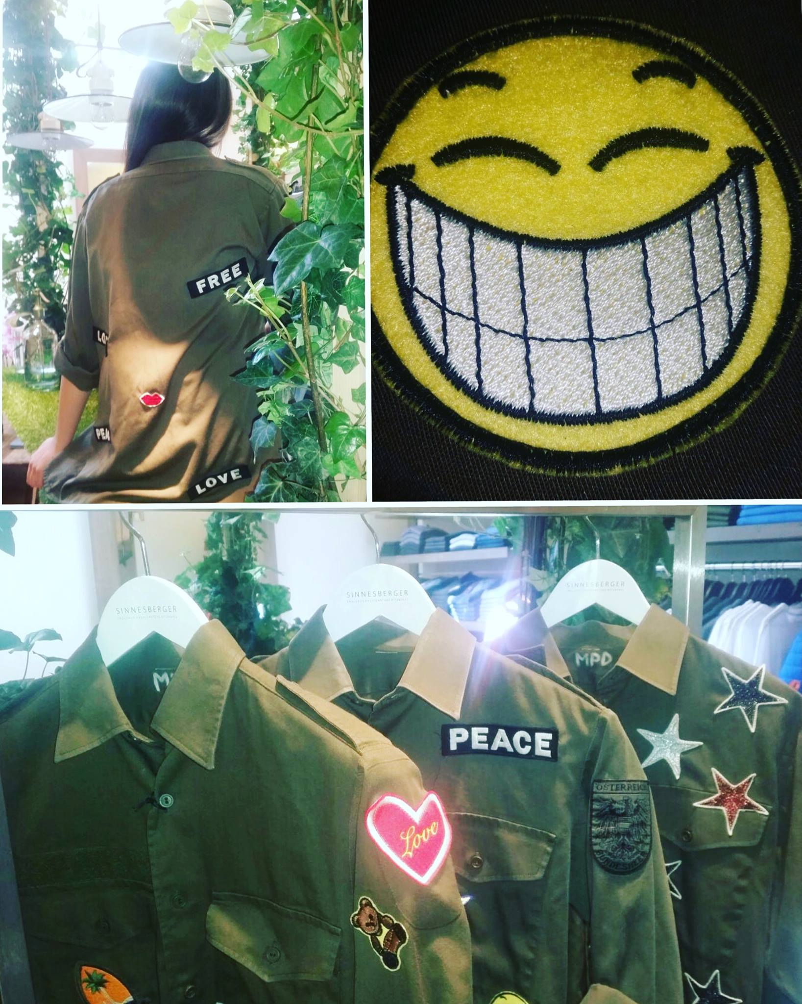 Militaryhemden mit Patches von MPD - Sinnesberger Englhaus Fashion Store Kitzbühel