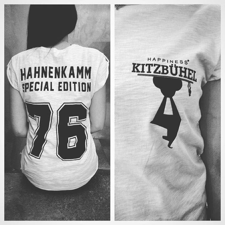 Sinnesberger Englhaus Fashionstore Kitzbühel - Kitzbühel Shirt Hahnenkamm Edition